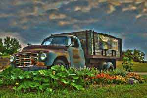 1949 Studebaker Truck at Whistler's Knoll Vineyard