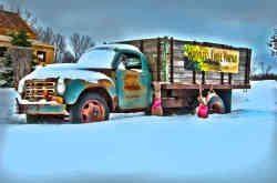 Whistler's Knoll Studebacker in the snow