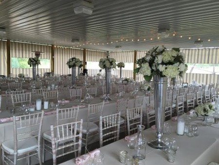 Every bride and groom puts their own creativity into the decor transforming the Grapevine Pavilion into a dream wedding!